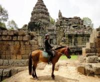 A la carte riding holiday in Cambodia, you can decide every day what you want to do.