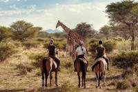 Horse Riding at the Kambaku Safari Lodge in Namibia! Horseback Riding in Africa!