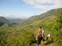 Family style riding vacations in the mountains of Costa Rica, specializing in Natural Horsemanship
