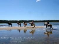Ratsukievari  - Horseback Riding Holidays in Saarenmaa, Lümanda Vald, Estonia!
