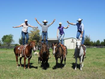 Holiday Company, Training Company, Dude/Guest Ranch, Western Riding Stable in Washington near Brenham (approx. 1h from Houston)