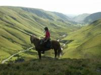 Horse riding weekends and holidays in the Brecon Beacons mountains, Wales, Great Britain!