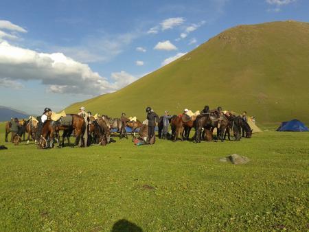 horseback tour in Bishkek / All Regions