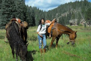 New Mexico Horse Adventures Horseback Riding Vactions In