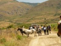 Riding in ALBANIA Gjirokastra Town & 6 historical monuments  and natural landscapes