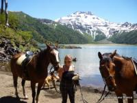 Horseback Riding at Fundo Laguna Blanca in the South of Chile - adventure trail riding and more