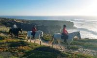 Horseriding in Portugal - Horseriding holidays in sunny Alentejo, Portugal in Vila Nova de Milfontes