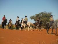 Riding Vacations in Namibia: Bagatelle Kalahari Game Ranch near Mariental, southern Kalahari!