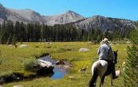 Spectacular Eastern Sierra vacation experience: horse corrals, cabins, mountain trails and more!