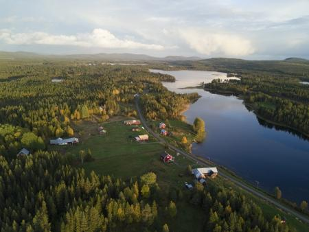 AHA LODGE - 65 NORTH in Sorsele / Lapland / North Sweden