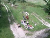 Horseback riding is offered throughout the seasons (including winter) at our rural Molise farm