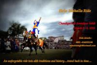 Riding vacation in Punjab India...showcasing a 17 th century martial arts Festival