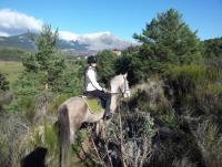 Horseback Riding in Sierra de Madrid in Guadarrama Mountain National Park, Spain!