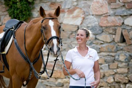 Equestrian Club of Cyclades in Syros / Southern Aegean