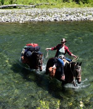 finca de equitación del Oeste en Pucón