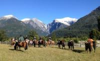 Horseback Riding in Northern Patagonia - crossing the Andes between Chile and Argentina!
