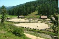A true cowboy's dream vacation, the Red Horse Mountain Ranch in Idaho!