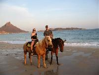 Trail Rides along the Beach for Everyone-Horseback Riding Vacations in San Carlos, Sonora Mexico!