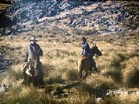Lodge, horseback riding and horseback expeditions in the Sierra of the Cuchumatanes, Guatemala