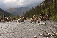 Horseback vacations in the Canadian Rockies