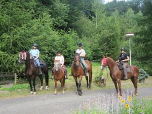 Weekly traveling on horseback