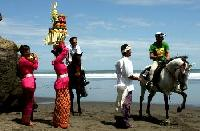 Horseback Riding Vacations in Bali, Indonesia - Riding on the endless beaches of Yeh Gangga!