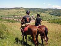 Horseback Riding holidays on untouched Transylvania close to medieval city of Sighisoara, Romania!